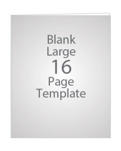 LARGE 16 PAGE BLANK