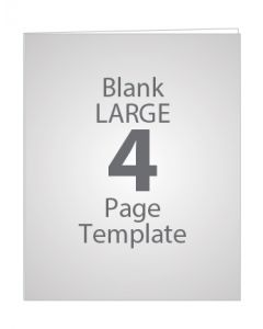 LARGE 4 PAGE BLANK