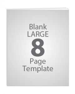 LARGE 8 PAGE BLANK