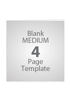 MEDIUM 4 PAGE BLANK