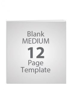 MEDIUM 12 PAGE BLANK