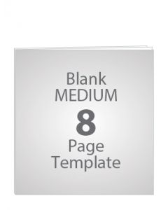 MEDIUM 8 PAGE BLANK